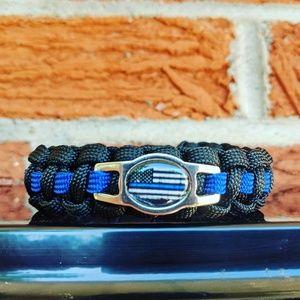 Jewelry - Police Paracord Bracelet